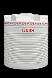 White Vertical Plastic Water Storage Tank