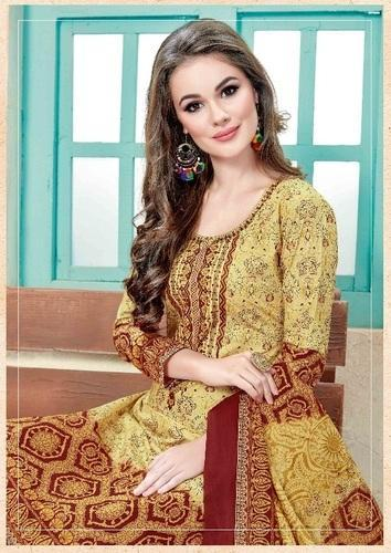 8d74d032bb Cotton Mayur Sana 4 Lawn Karachi Salwar Suits, Rs 370 /piece | ID ...