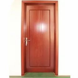 Hinged Glossy Wooden PVC Door, for Home