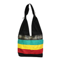 Striped Pattern Tote Bag