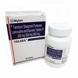 Tenofovir Disoproxil Fumarate Lamivudine And Efavirenz Tablet IP