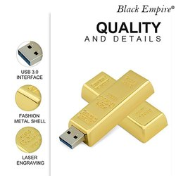 Gold Shape Pendrive
