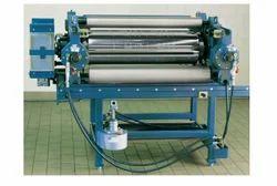 Fabric Embossing Machine, Capacity: 3-6 Tons/day, 5hp