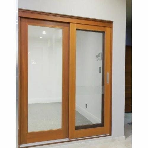 Pvc Sliding Door At Rs 250 Square Feet Polyvinyl Chloride Doors