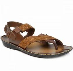 Paragon Men Brown Sandals, Size: 6-9