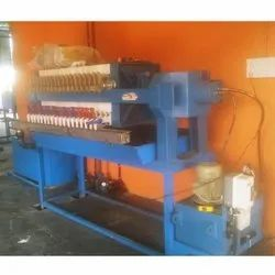 Semi-Automatic Hydraulic Filter Press