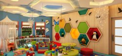 According To The Project Play School Interior Designing