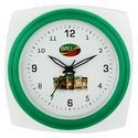 Green Frame Wall Clock