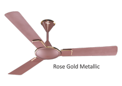 Sunflower Ceiling Fan Rose Gold Metallic