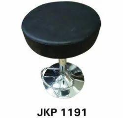 Black Salon Bar Swivel Stool, 1.5 Feet Sitting Height, Model Name/Number: JKP1191