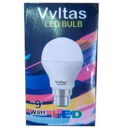 Vvltas 9 Watt LED Bulb, Base Type: B22