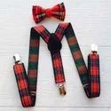 Designer Leather Kids Suspenders
