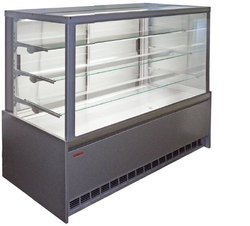 Rectangular Glass Pastry Display Counter