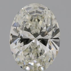Oval Cut CVD Diamond 1.63ct J VS1 IGI Certified