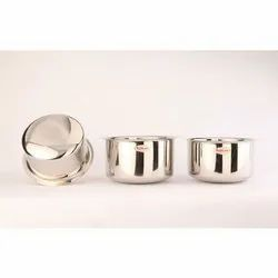 Sunline Round Stainless Steel Tope, For Kitchen