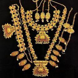 Full Bridal Temple Jewelry Set