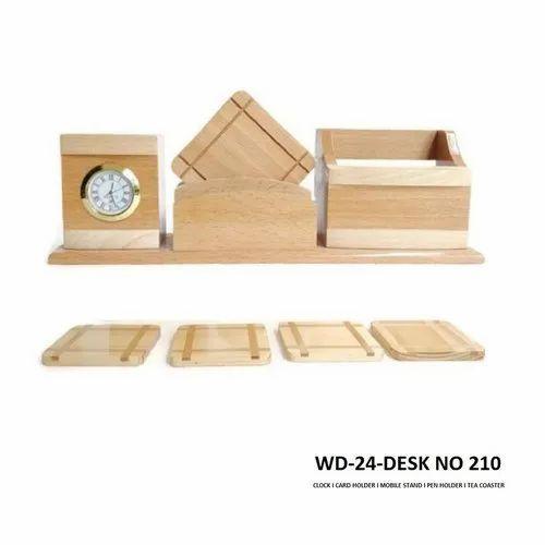 Wood Wooden Desk Top-WD-24