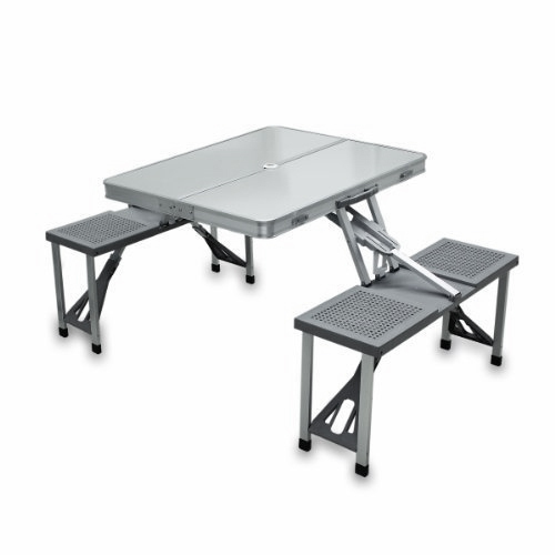 Al National Outdoor Picnic Folding Table With Umbrella Rs 4500