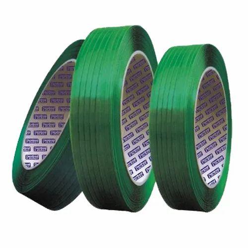 Green PET Strap, Packaging Type: Roll