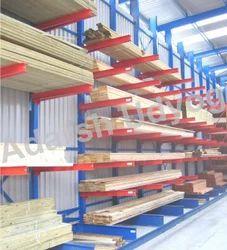 8feet Mild Steel Cantilever Rack, For Industrial