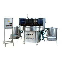 Bottle Rinsing Machine.