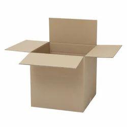 Corrugated Paper Single Wall - 3 Ply Corrugated Shipping Box, Box Capacity: 1-5 Kg