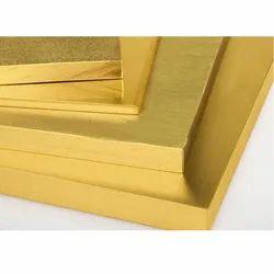 Rectangular 61 Brass Plate