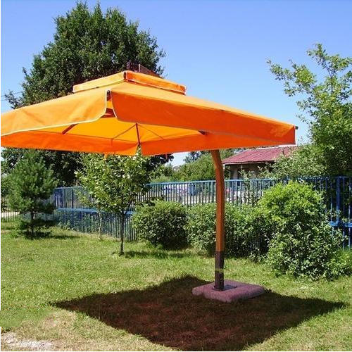 a95ea5939b026 Orange Side Pole Garden Umbrella, Rs 38000 /piece, Swastik Outdoors ...