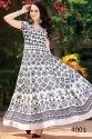 Perfect Maslin Cotton Printed Party Wear Kurti