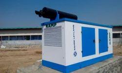 Silent or Soundproof Water Cooling Ashok Leyland Generators Set, For Industrial