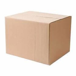 Brown Corrugated Shipping Box, Capacity: 6-10 kg