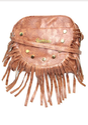 Brown Sun Design New Sling Bag