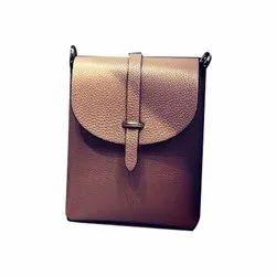 Red Eye Brown Leather Shoulder Bag