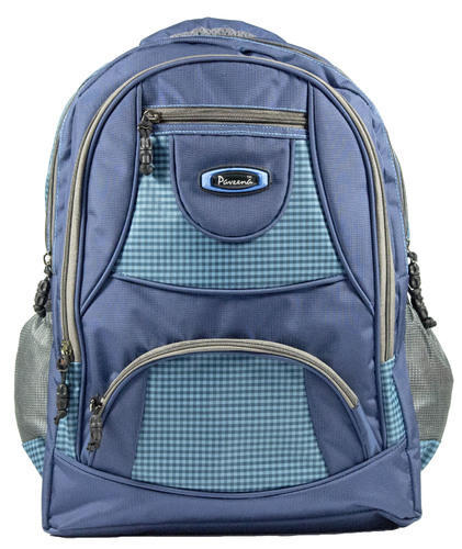 d9e56512ff Plain Canvas School Backpack Bag