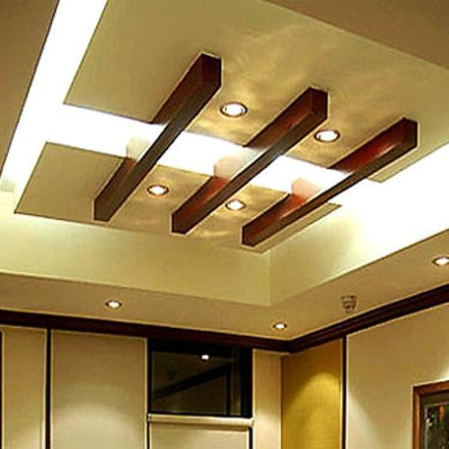 Gyproc Saint Gobain False Ceiling Services, Thickness: 8
