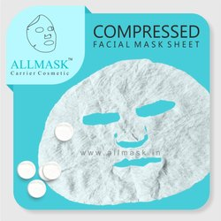 Viscose Compressed Facial Mask Sheet - 100% Original - ODM/OEM Customization Available