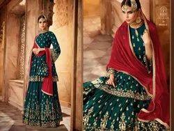 Mohini 59005 Sarara Suit