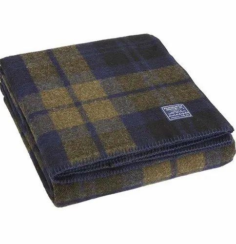 Soft Grey Woolen Blanket, Packaging Type: Pale Packing