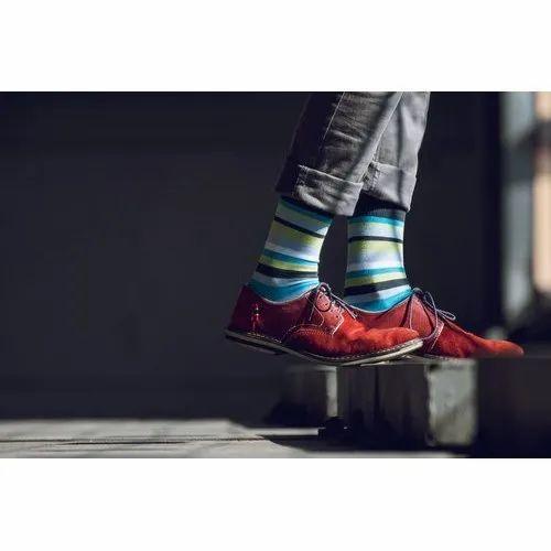 Plain Men' s Socks