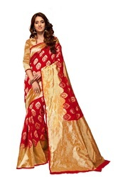 Maroon Fancy Silk Sarees