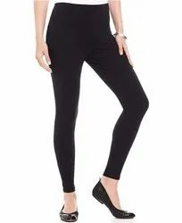 Cotton Lycra Ankle Length Leggings
