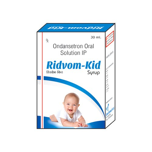 Ridvom Kid Ondansetron Oral Solution IP for Clinical, Packaging Type: Box