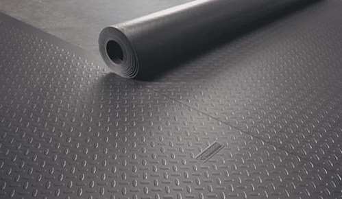 seal rubber floors intended checker non stop roll flooring weather door bar garage floor strip astonishing matting