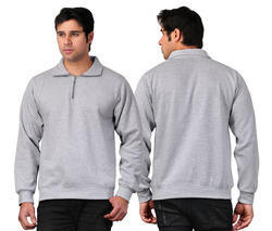 Sweat Shirt With Zip