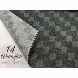 Yarn Dyed Cotton Denim Dobby Shirting Fabric