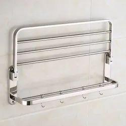 Folding Stainless Steel Towel Rack
