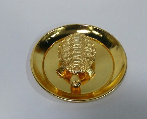 Feng Shui Metal Copper Tortoise With Plate For Good Luck At Rs 50 Piece Kandivali West Mumbai Id 16513096030