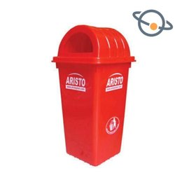 Top Dome Open Plastic Dustbins