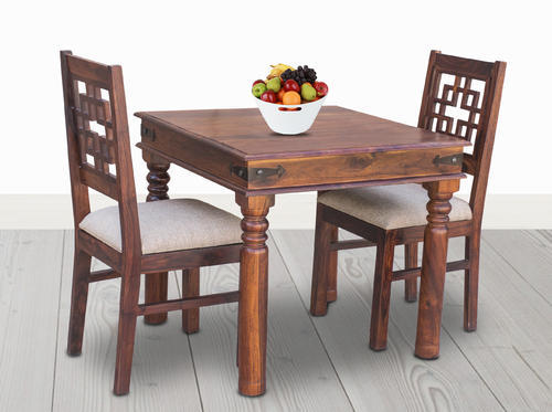 Maple Finish Furniselan 2 Seater Dining Table Set