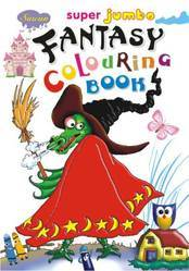 Super Jumbo Fantasy Colouring Books